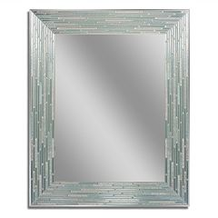 Head West Reeded Wall Mirror by