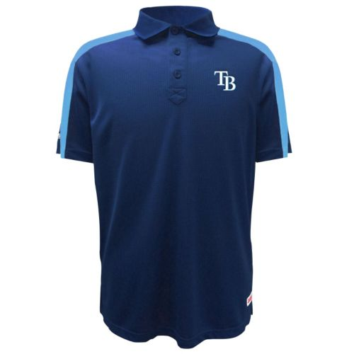Men's Stitches Tampa Bay Rays Waffle Polo