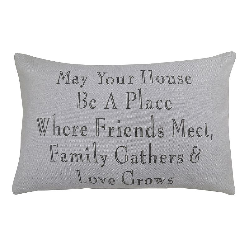 Park B. Smith ''Family Gathers'' Throw Pillow
