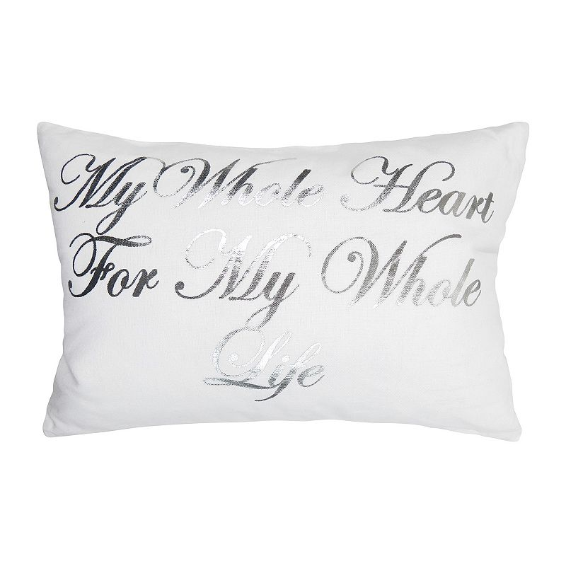 Park B. Smith ''My Whole Heart'' Throw Pillow