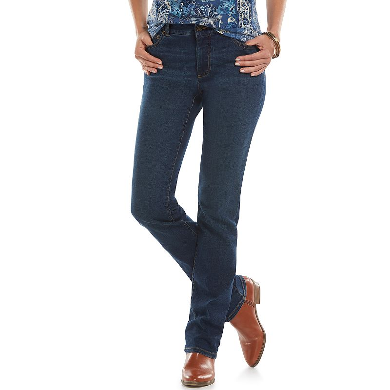 Chaps Modern Fit Straight-Leg Jeans - Women's
