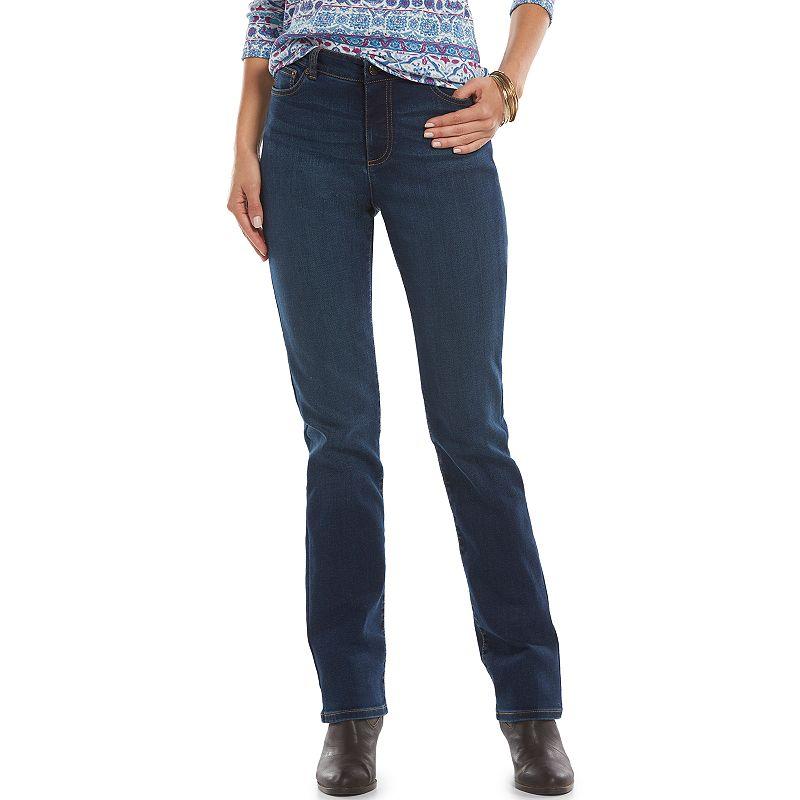 Women's Chaps Curvy Fit Straight-Leg Jeans