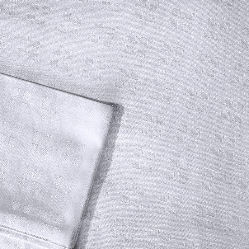 Madison Park 600-Thread Count Dobby Dot Egyptian Cotton Sateen Sheets