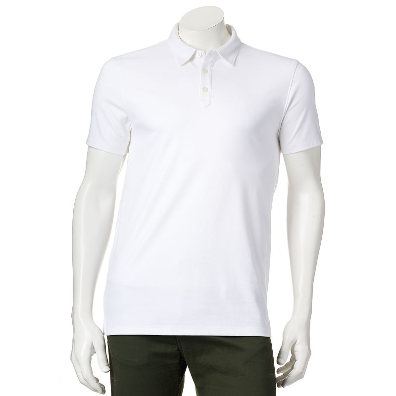 Men's Apt. 9® Slim-Fit Solid Interlock Polo