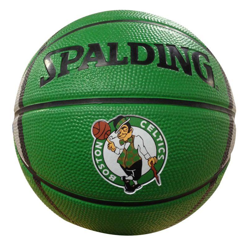 Boston Celtics Mini Basketball, Green thumbnail