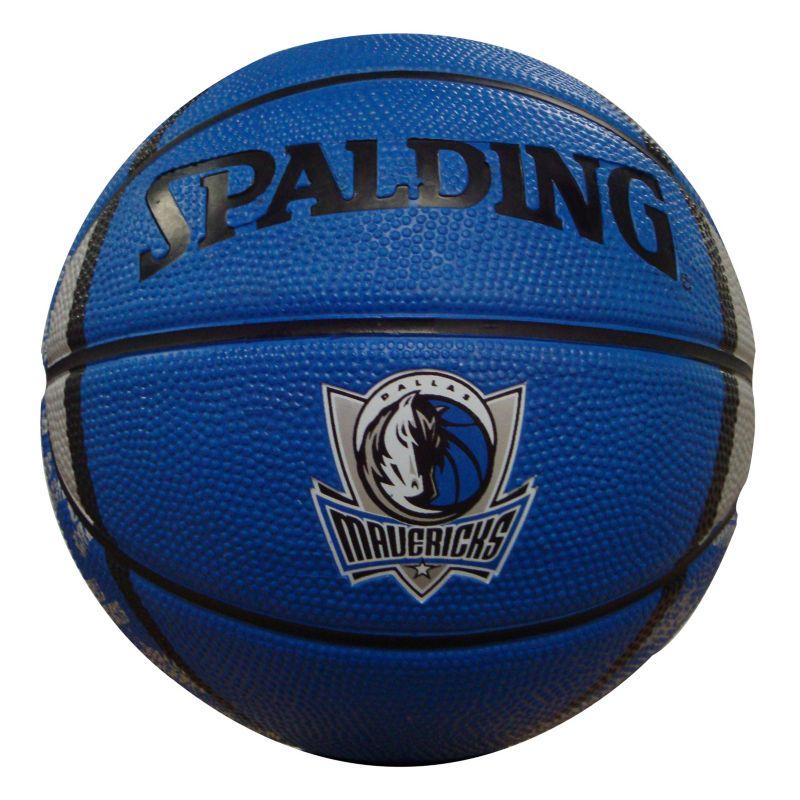 Dallas Mavericks Mini Basketball, Blue thumbnail