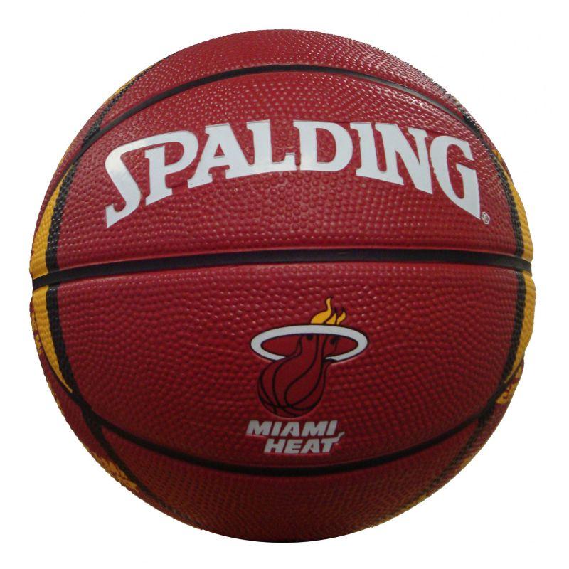 Miami Heat Mini Basketball, Brown thumbnail