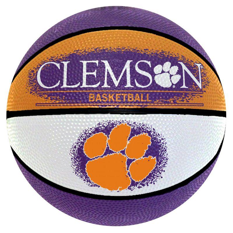 Clemson Tigers Mini Basketball, Multicolor thumbnail
