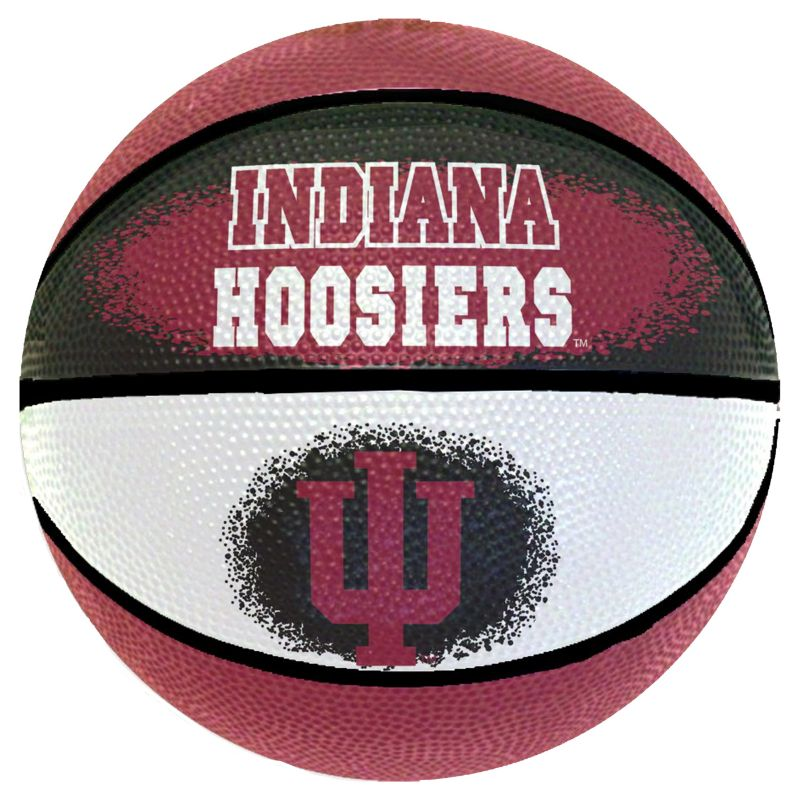 Indiana Hoosiers Mini Basketball, Multicolor thumbnail