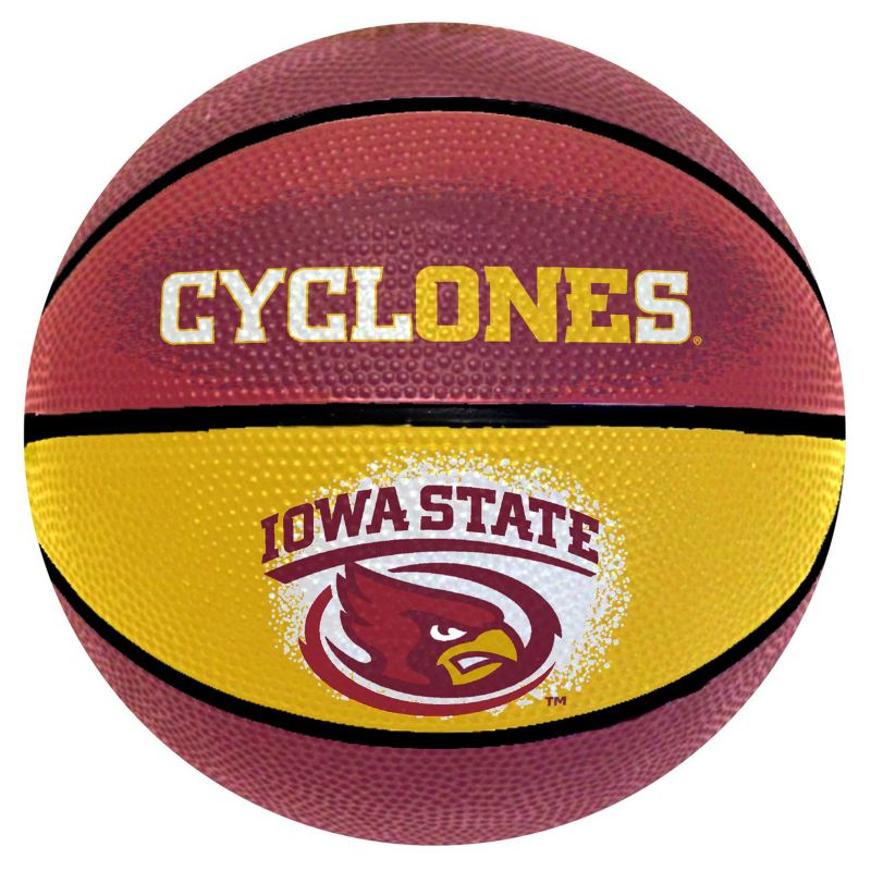 Iowa State Cyclones Mini Basketball, Multicolor thumbnail