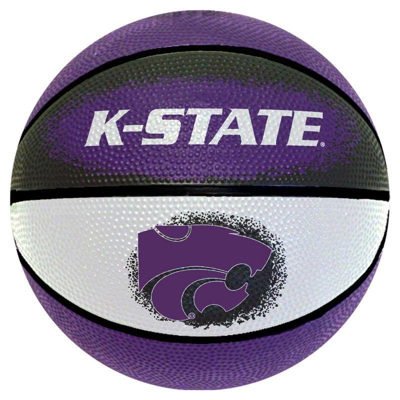 Kansas State Wildcats Mini Basketball, Multicolor thumbnail
