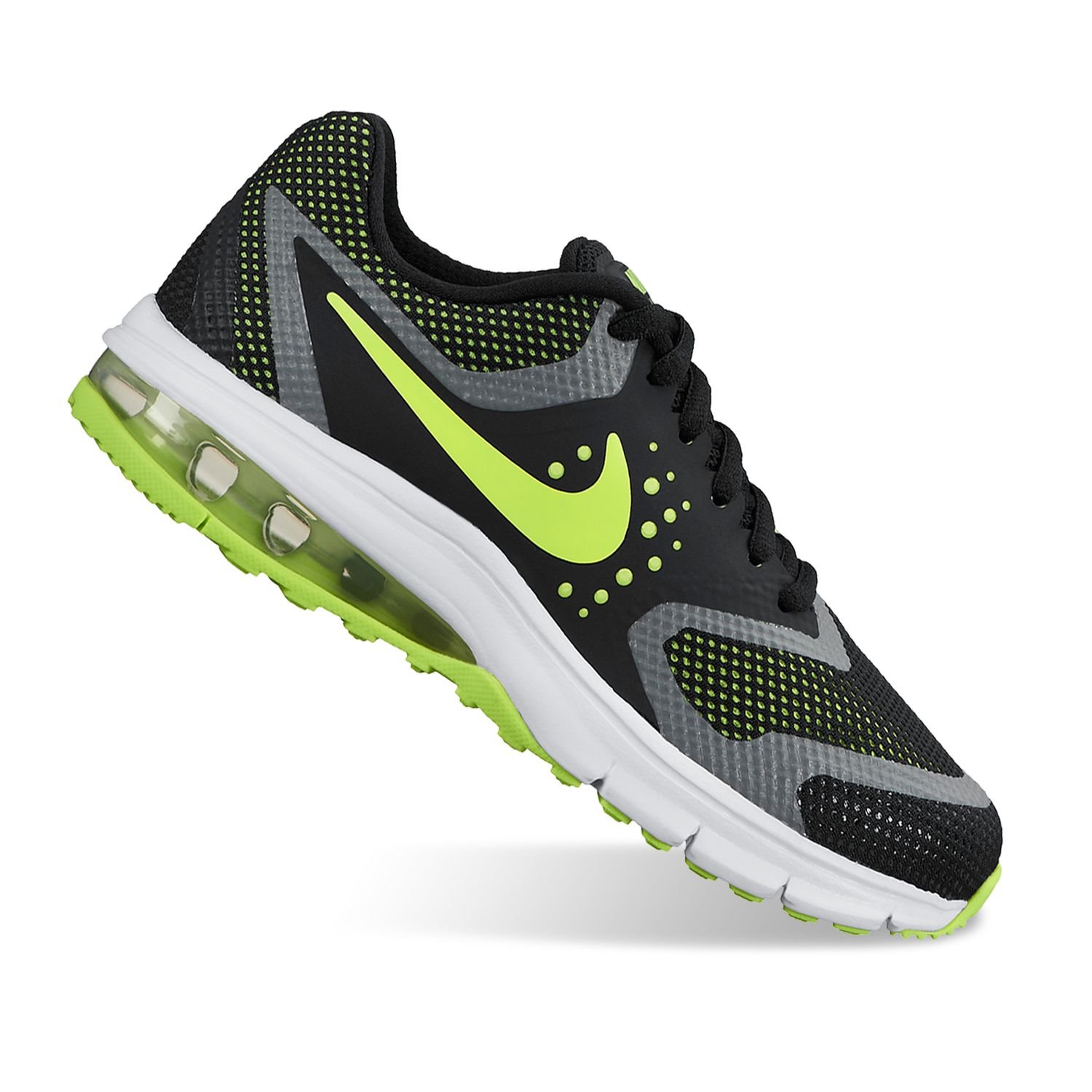 Nike Air Max Premiere Run Boys\\u0026#39; Running Shoes. Black Volt