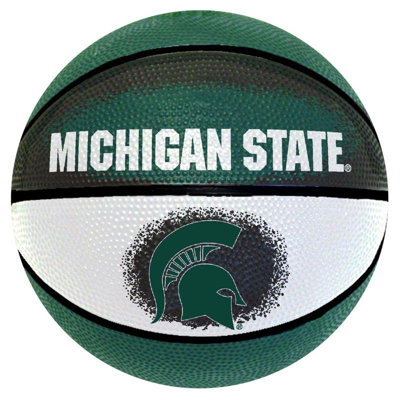 Michigan State Spartans Mini Basketball, Multicolor thumbnail