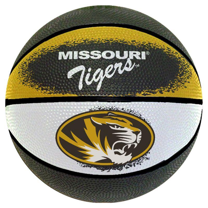Missouri Tigers Mini Basketball, Multicolor thumbnail