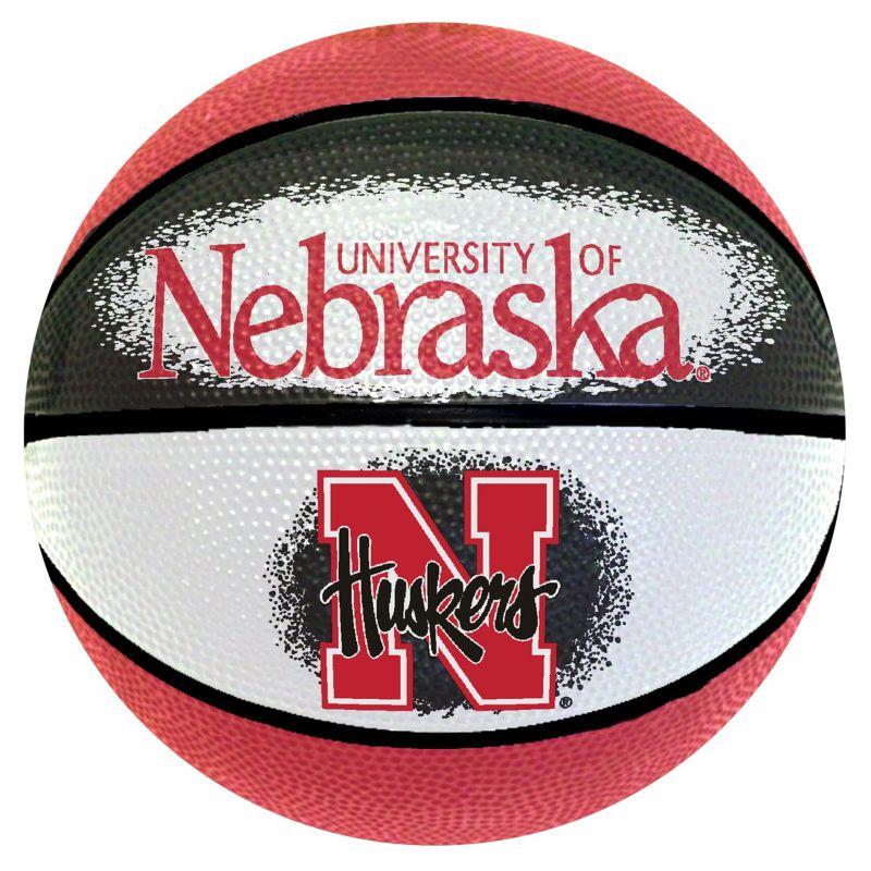 Nebraska Cornhuskers Mini Basketball, Multicolor thumbnail