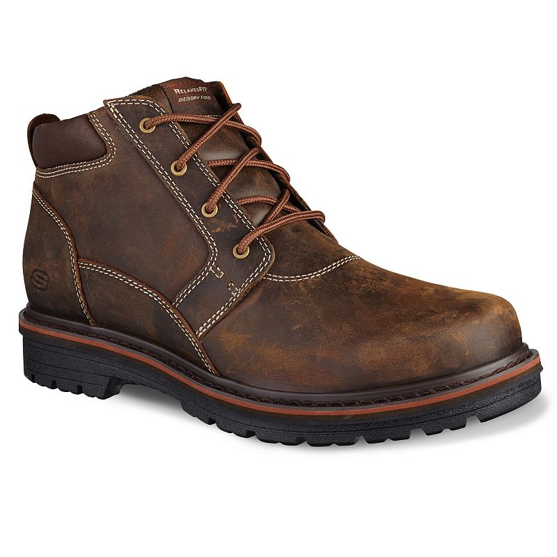 Skechers Relaxed Fit Oakdale Men's Boots