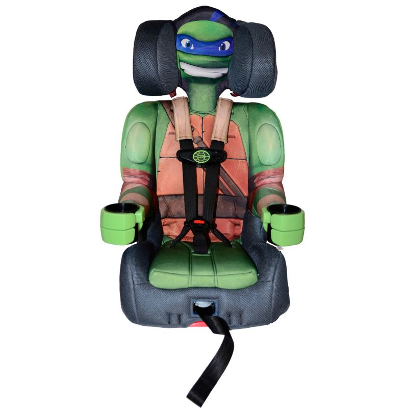 Teenage Mutant Ninja Turtles Booster Car Seat by KidsEmbrace, Green