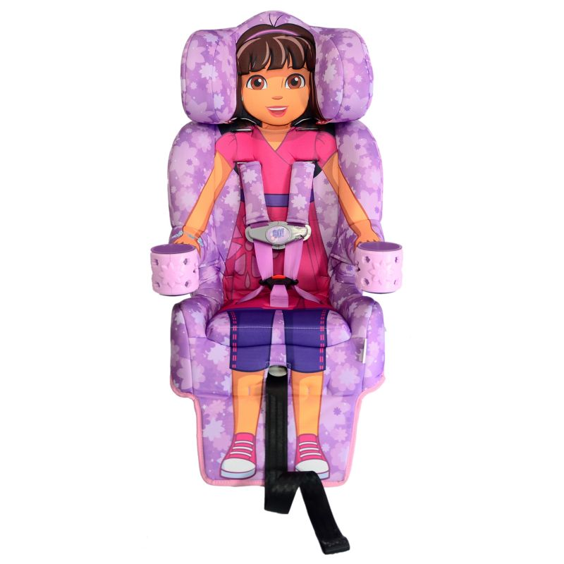 Dora & Friends Booster Car Seat by KidsEmbrace, Purple