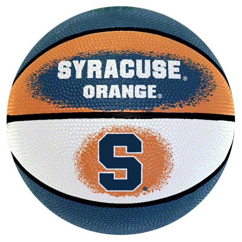 Syracuse Orange Mini Basketball, Multicolor thumbnail