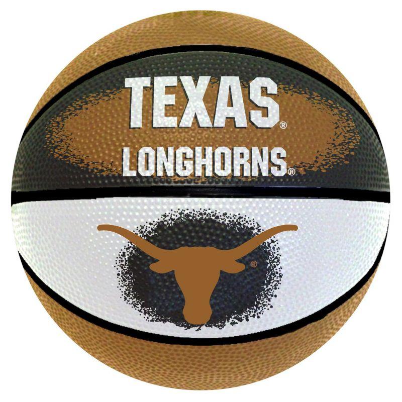 Texas Longhorns Mini Basketball, Multicolor thumbnail