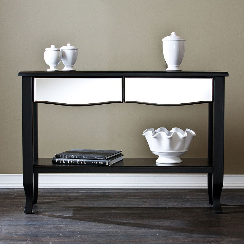 Southern Enterprises Melbourne Mirrored Console Table