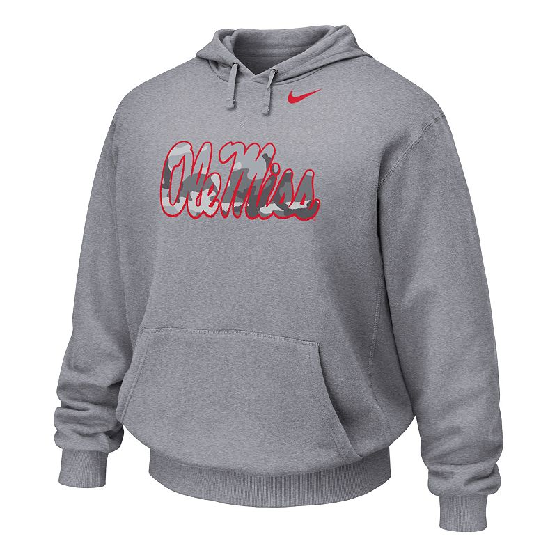 Men's Nike Ole Miss Rebels Flyover Fleece Hoodie
