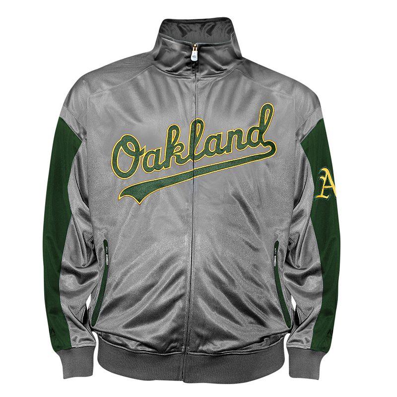 Big & Tall Oakland Athletics Tricot Track Jacket
