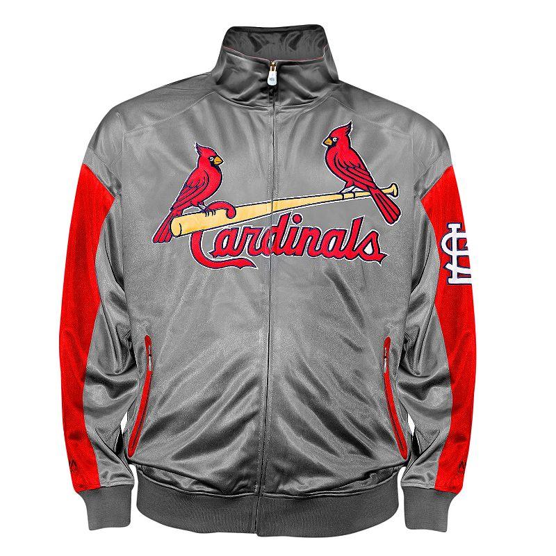 Big & Tall St. Louis Cardinals Tricot Track Jacket