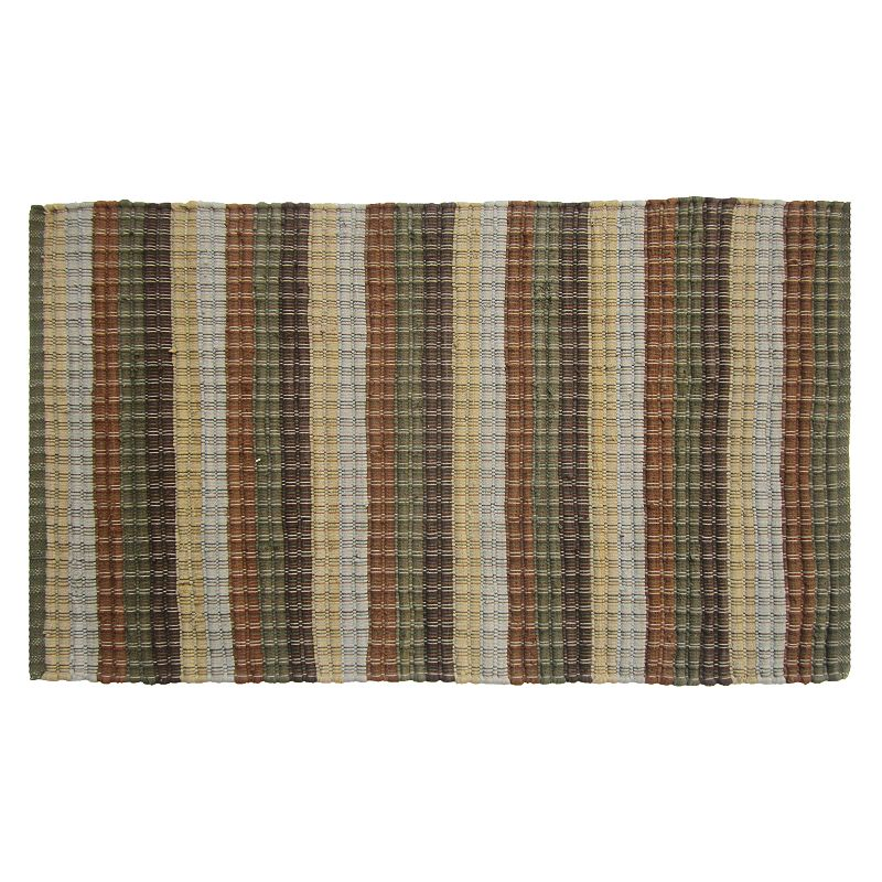 Lodge Ridgefield Striped Chindi Reversible Rug - 27'' x 45''