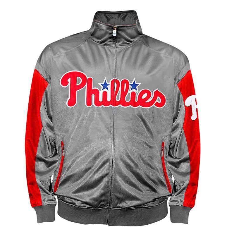 Big & Tall Philadelphia Phillies Tricot Track Jacket
