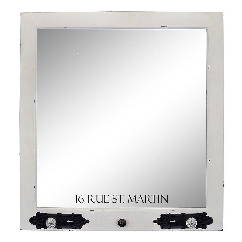 Belle Maison ''Rue St. Martin'' Wall Mirror