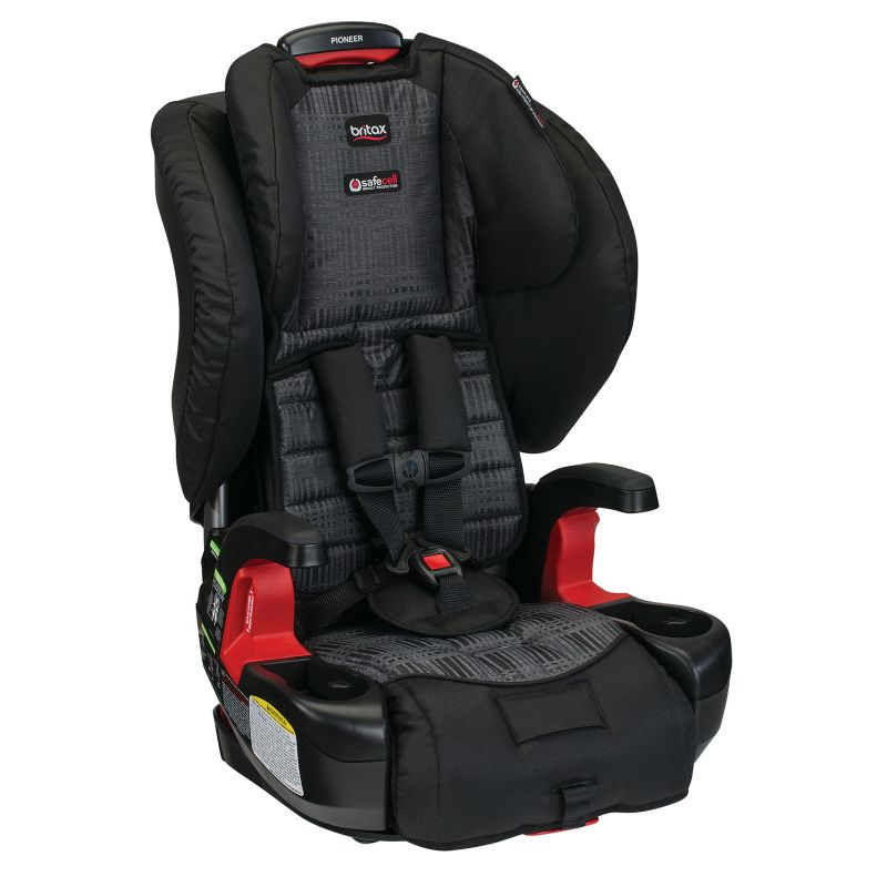 Britax Pioneer G1.1 Harness-2-Booster Car Seat, Black