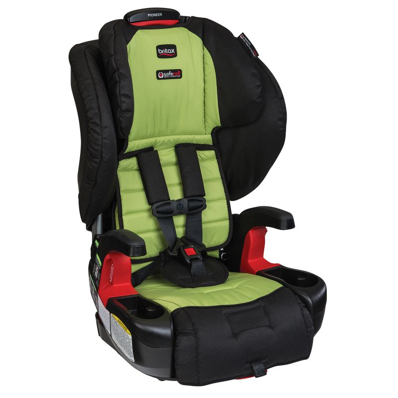 Britax Pioneer G1.1 Harness-2-Booster Car Seat, Green