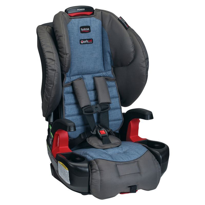 Britax Pioneer G1.1 Harness-2-Booster Car Seat, Blue