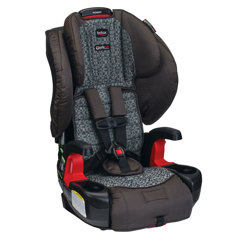 Britax Pioneer G1.1 Harness-2-Booster Car Seat, Silver