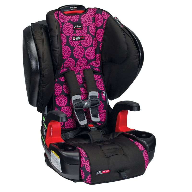Britax Pinnacle G1.1 ClickTight Harness-2-Booster Car Seat, Pink