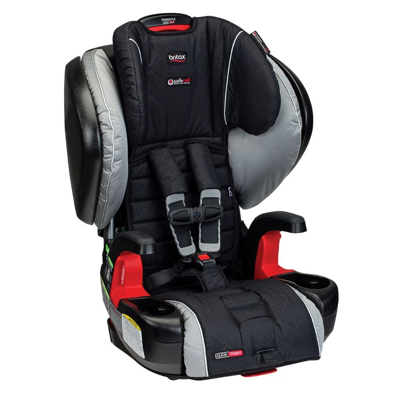Britax Pinnacle G1.1 ClickTight Harness-2-Booster Car Seat, Black