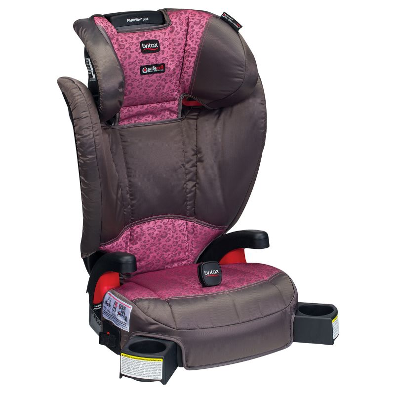 Britax Parkway SGL G1.1 Belt-Positioning Booster Car Seat, Pink