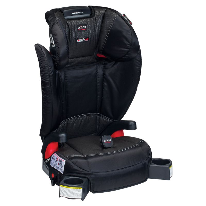 Britax Parkway SGL G1.1 Belt-Positioning Booster Car Seat, Black