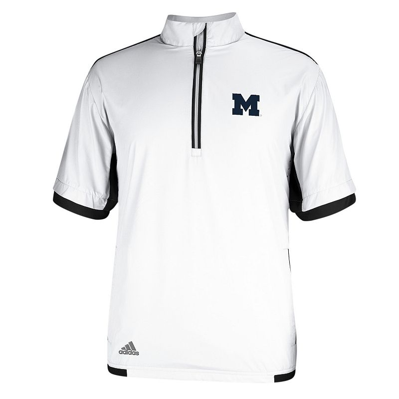 Men's adidas Michigan Wolverines Stretch climaproof Windshirt