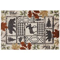 American Rug Craftsmen Woolrich Autumn Leaves Lodge Rug