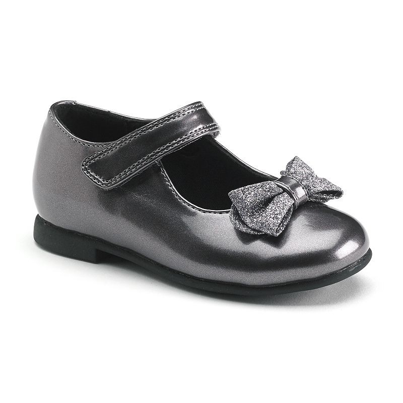 Rachel Shoes Lil Crystal Toddler Girls' Bow Dress Shoes