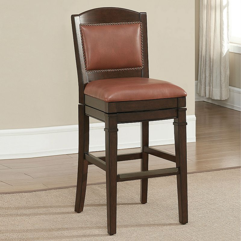 American Heritage Billiards Artesian Black Counter Stool