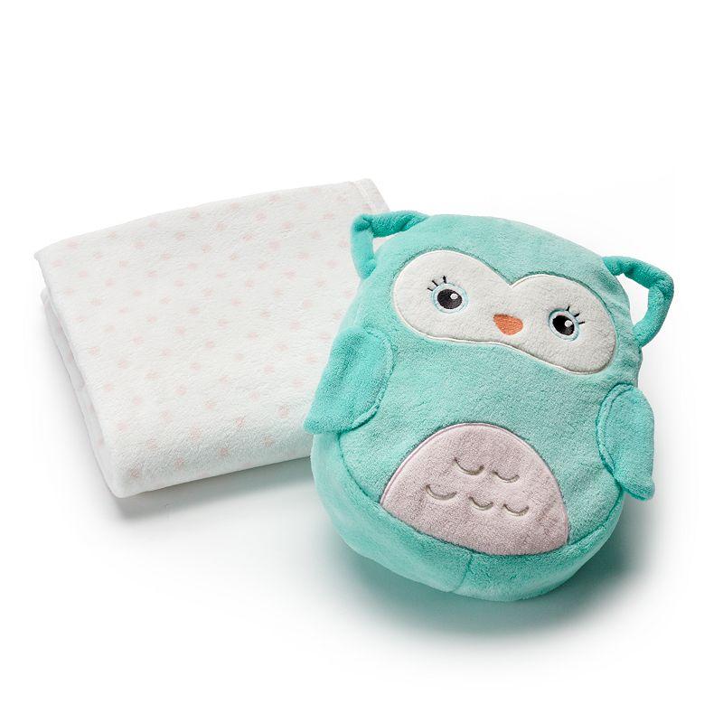 Carter's Animal On-the-Go Bag & Blanket Set
