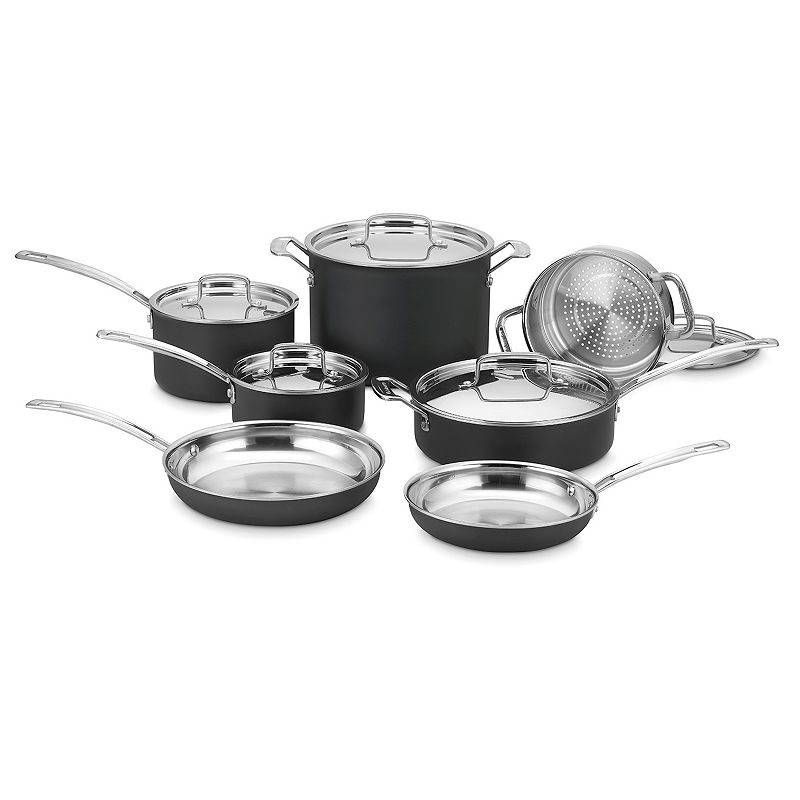 Cuisinart 12-pc. Hard-Anodized Nonstick Cookware Set