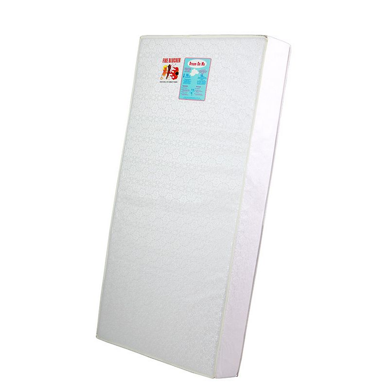 Dream On Me Full-Size Firm Foam Toddler Crib and Bed Mattress
