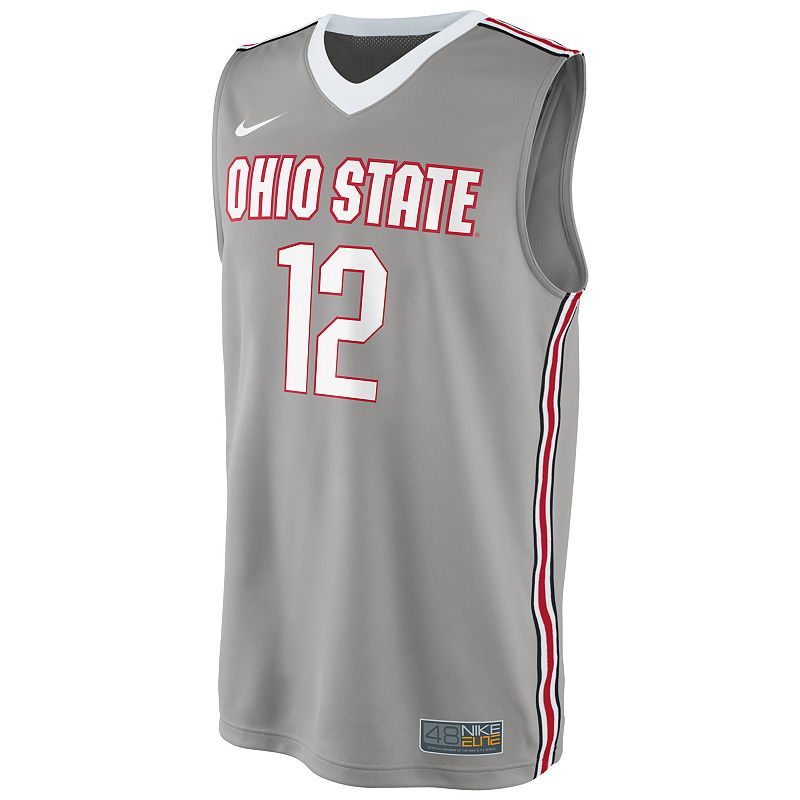 Men's Nike Ohio State Buckeyes Replica Basketball Jersey