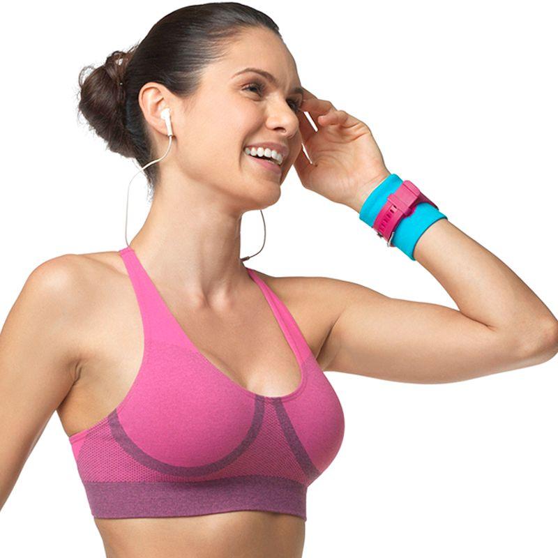 Lupo Bra: Color Mix Medium-Impact Sports Bra 71425 - Women's