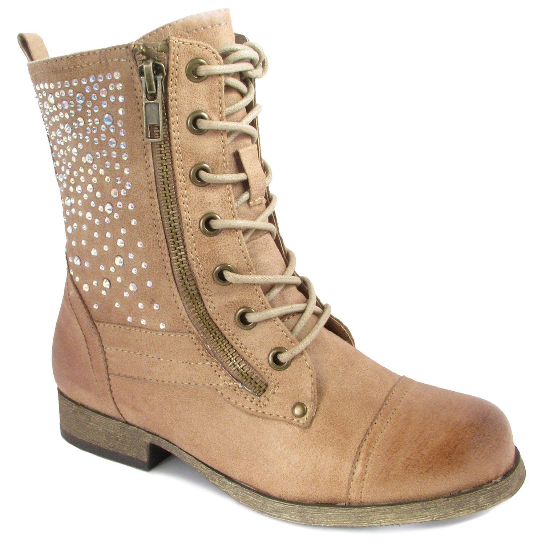 Cute Combat Boots For Juniors | Bsrjc Boots