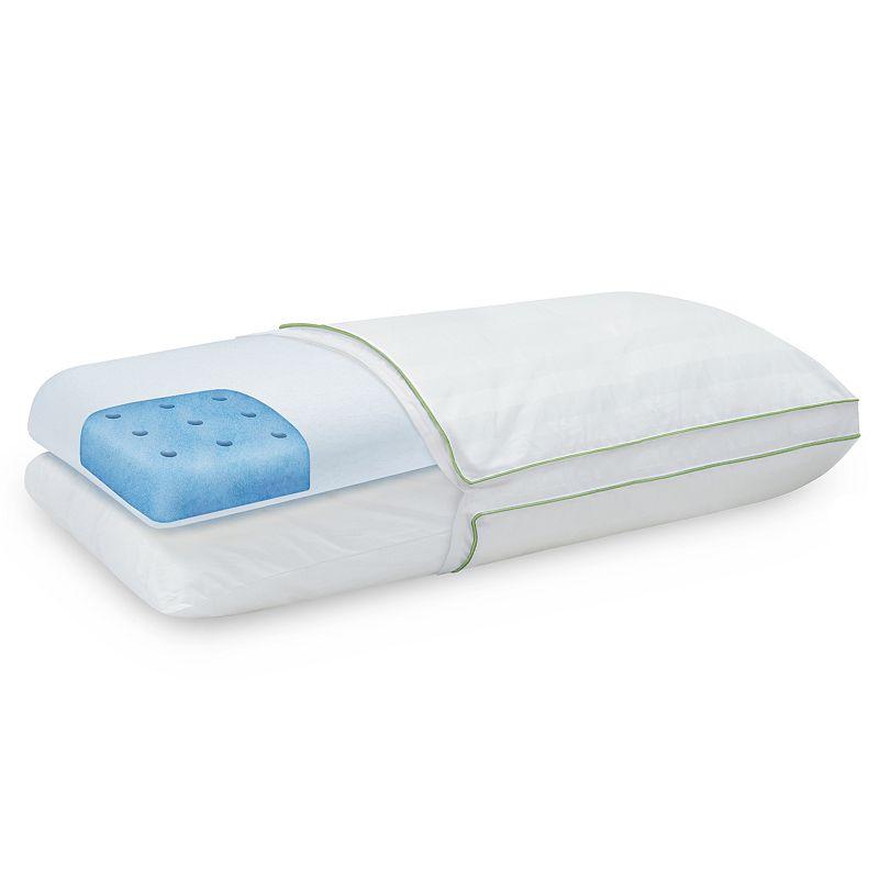 SensorPEDIC Dual Comfort Supreme Memory Foam & Fiber Pillow